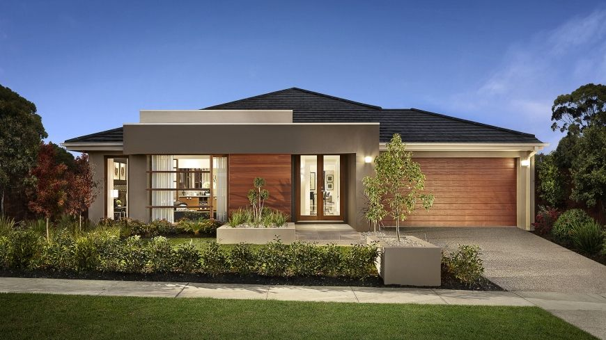 10 dise os de casas de una planta modernos modelos de for Viviendas modernas de una planta
