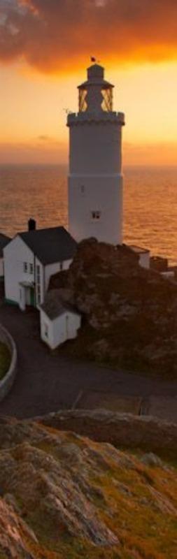 Dawn rises over Start Point Lighthouse ~ Devon, England