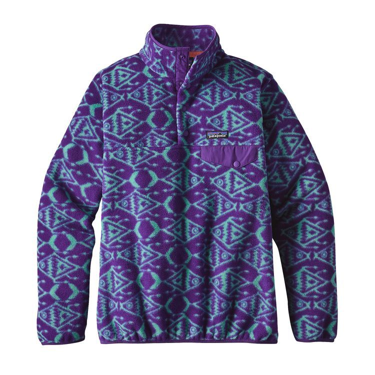 Patagonia Women S Lightweight Synchilla Snap T Fleece Pullover In 2020 Womens Fleece Fleece Pullover Patagonia Womens
