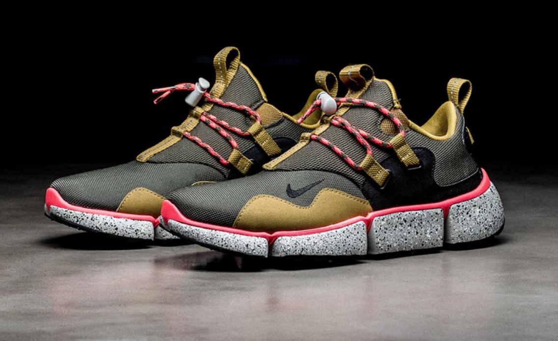 Desert Moss & Cargo Khaki Land On The Nike Pocket Knife DM