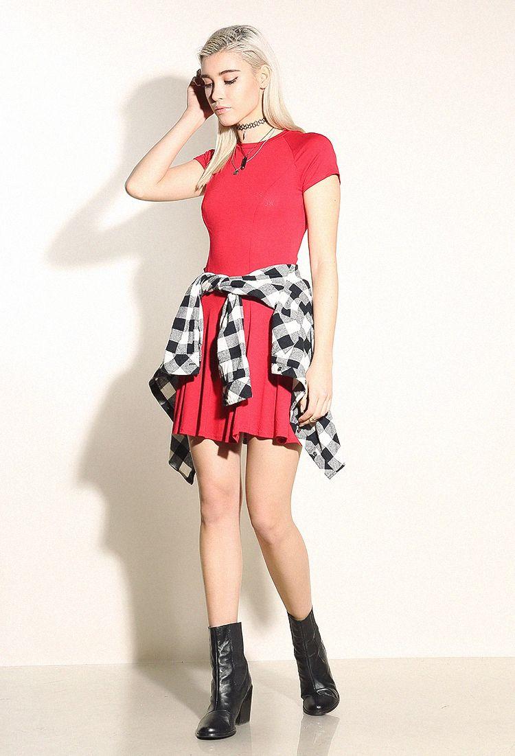 Basic flare dress diy clothing inspiration pinterest promotion