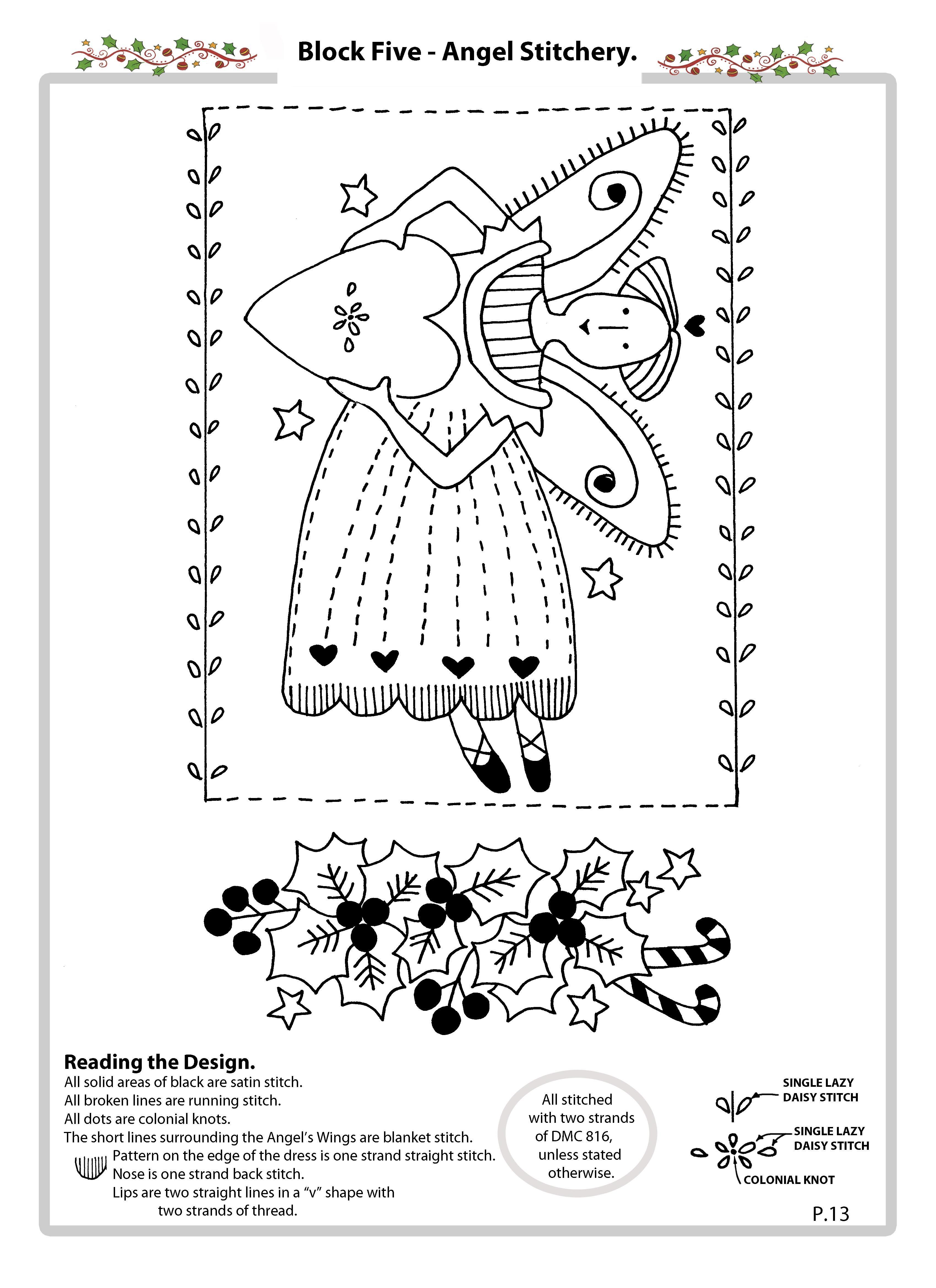 Pin de Sandra Sulzbach en Riscos Natal | Pinterest | Bordado ...
