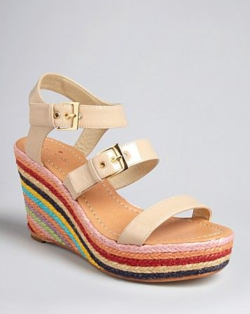 eddde6be247 kate spade new york Platform Wedge Sandals - Darla Rope Espadrille ...
