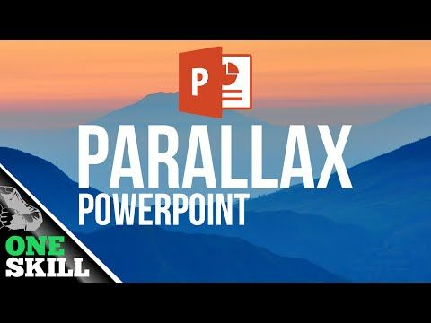 How To Create Parallax Effect In Powerpoint Youtube Business