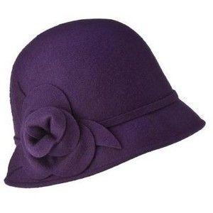 Purple cloche