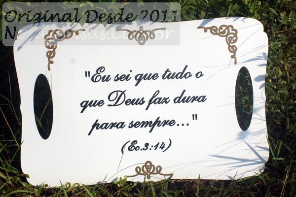 Mensagem De Casamento Evangelico: Placa De Casamento Evangélico Versículo Bíblia 45x30