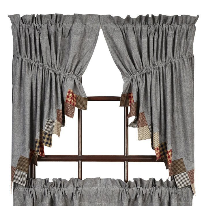 Beacon Hill Prairie Swag Tier Curtain | Products | Pinterest