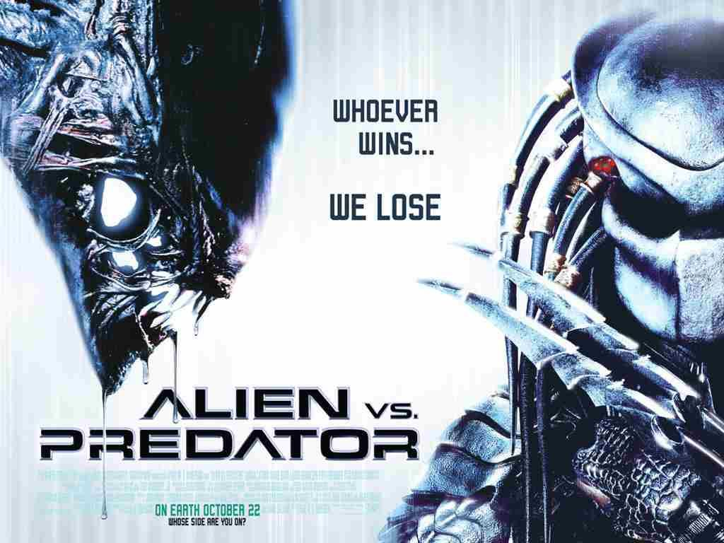 Image result for alien vs predator poster