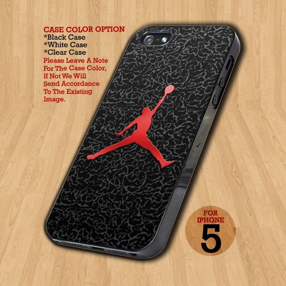 TB242 Nike Air Jordan Logo Custom - Design on Hard Case For iPhone 5 Case