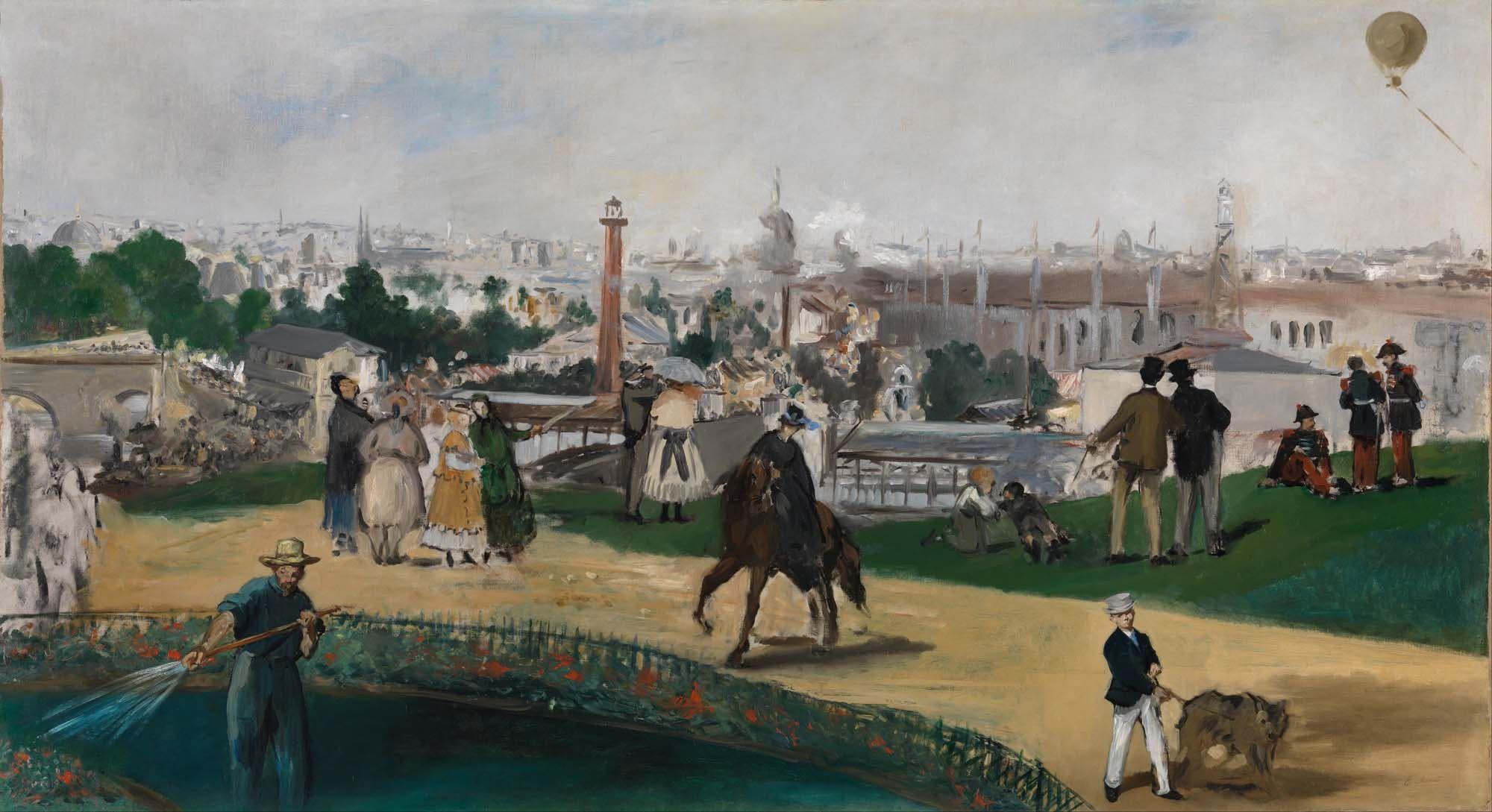 Картинки по запросу manet exposition universelle 1867