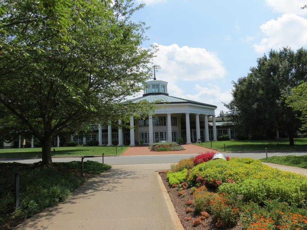 Daniel Stowe Botanical Garden   Belmont, NC, United States. Front Entrance