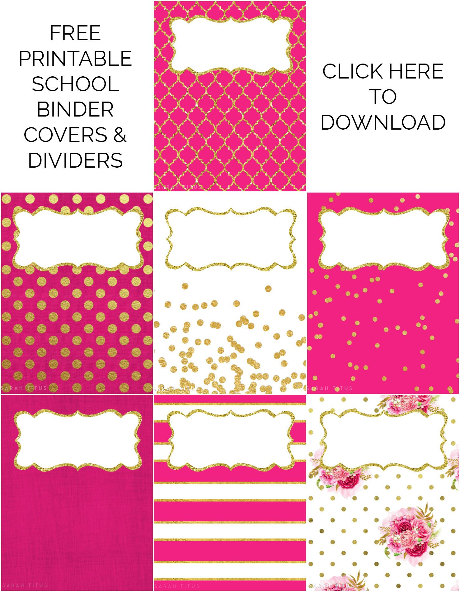 graphic regarding Printable Dividers for Binders identify Binder Handles / Dividers Cost-free Printables Options Binder