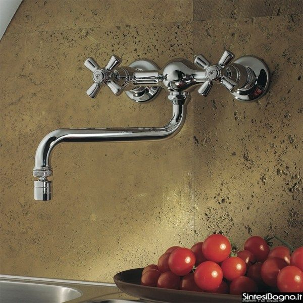 Retro Küchenarmaturen Wand Handgriffe