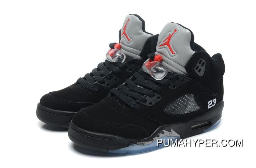 sale retailer 38a83 d7ef6 New Year Deals Air Jordans 5 Retro Black/Varsity Red ...