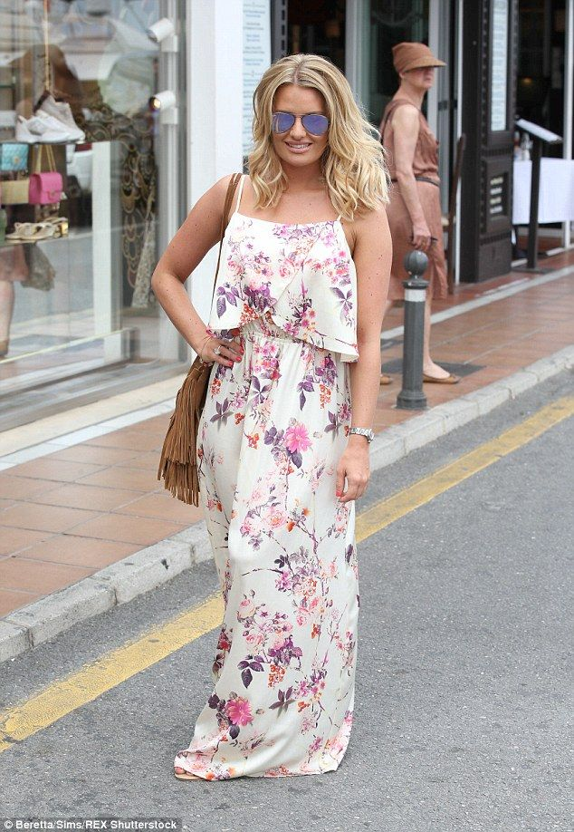 Maxi dress fashion article in spanish