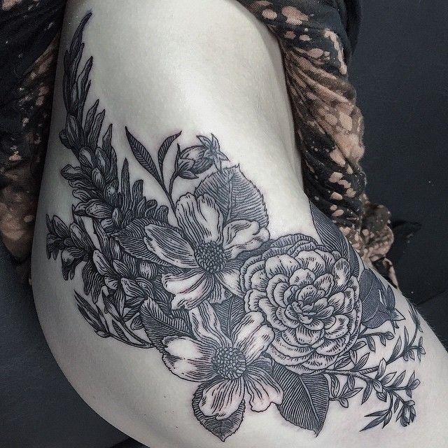 Thomas Sinnamond -Seattle #ink #tattoo #linework
