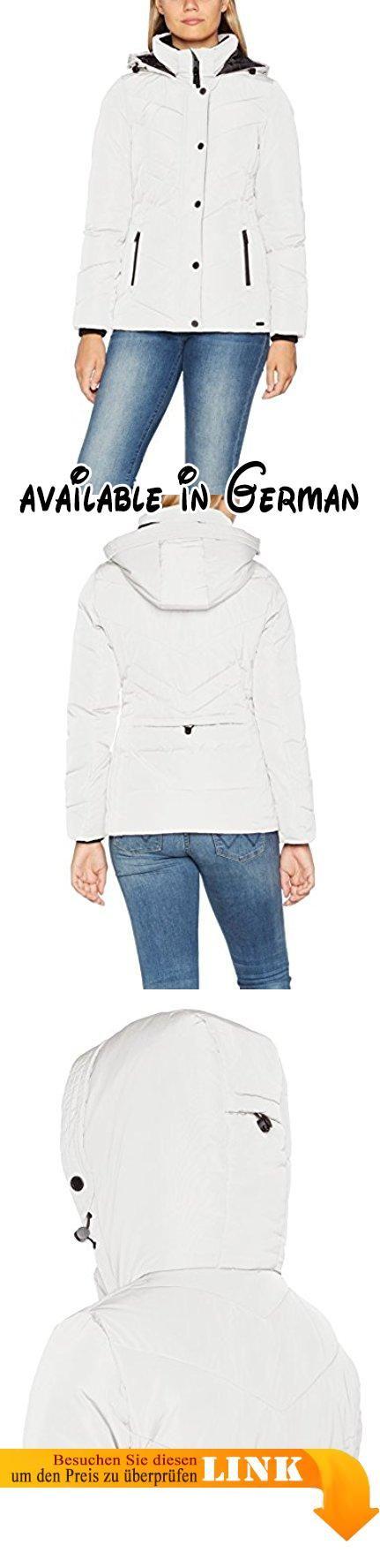 TOM TAILOR Damen Jacke Cold Day Jacket Elfenbein (Whisper White 8210), 44 ( 5b27c5a1aa