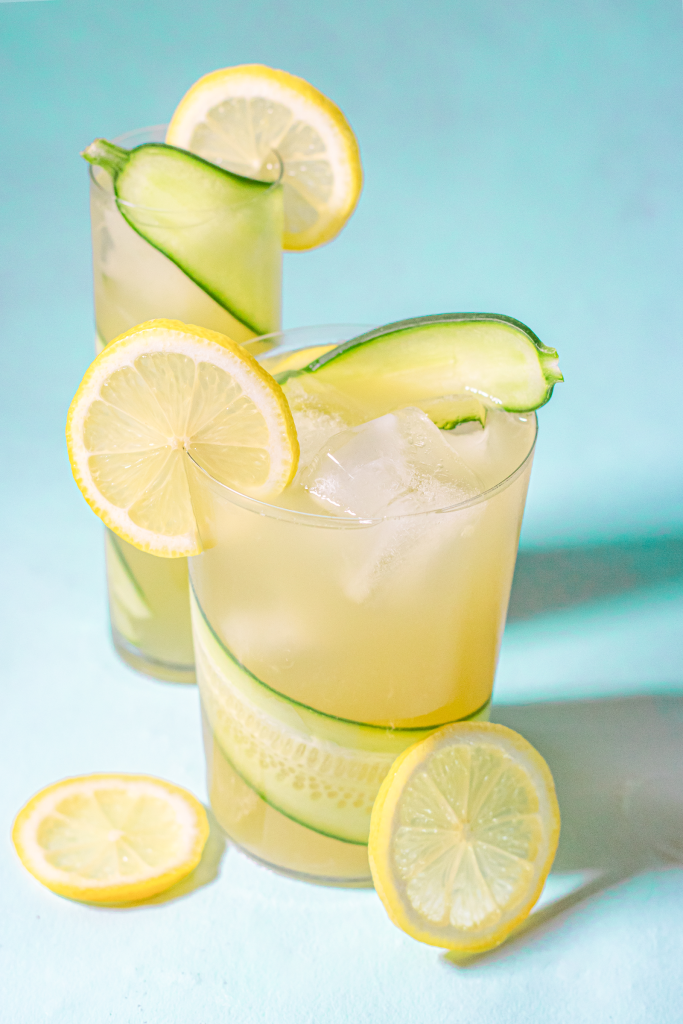 Refreshing Cucumber Lemonade #easylemonaderecipe Refreshing Homemade Cucumber Lemonade Recipe | How To Make Easy Cucumber Lemonade | Add Vodka or Gin for a Simple and Delicious Detox/ Retox Cocktail! | with Lemon Juice, Fresh Cucumber Juice, and Sugar Syrup | Serve over Ice Cubes | Make a Pitcher for a Party or Cocktail Punch | Plating | Food Styling | Aesthetic Photography #easylemonaderecipe
