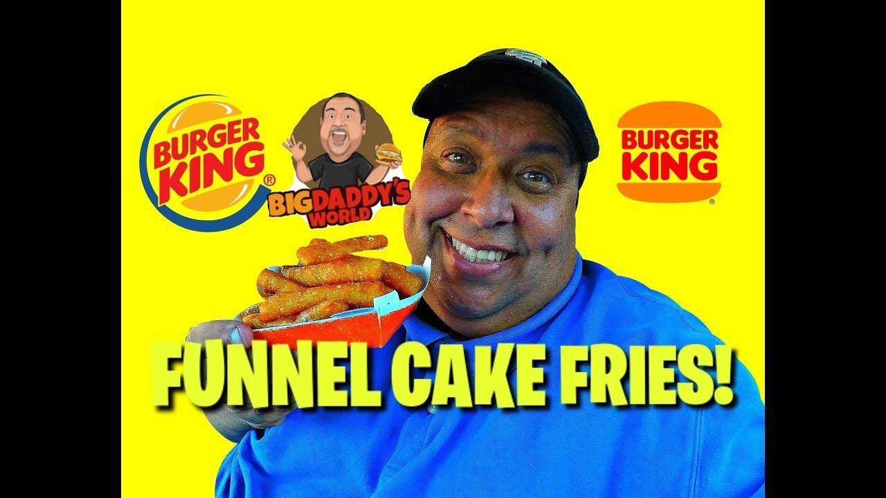 funnel cake sticks burger king