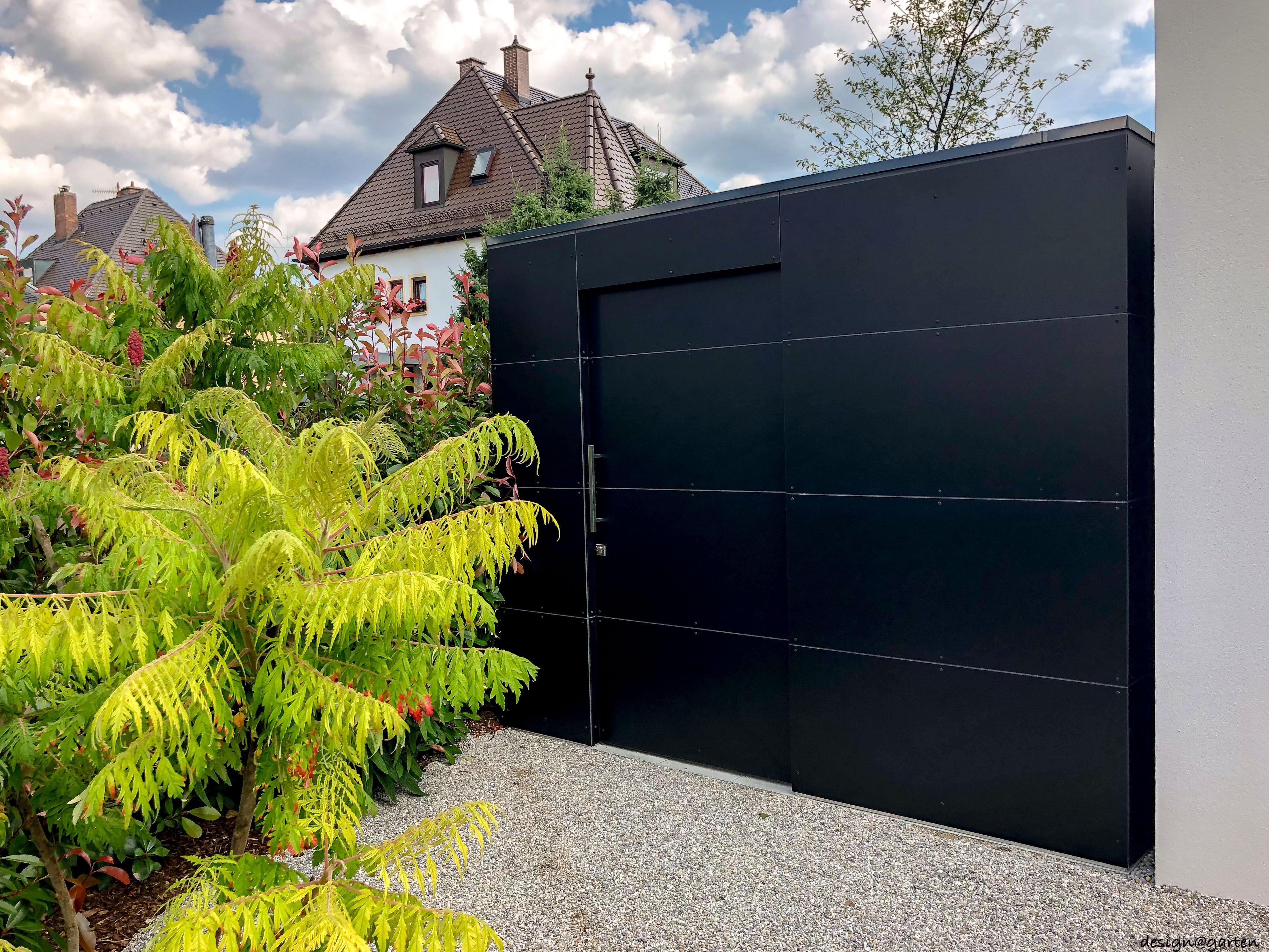 """Design Gartenhaus """"black box"""" _gart in München by design"""
