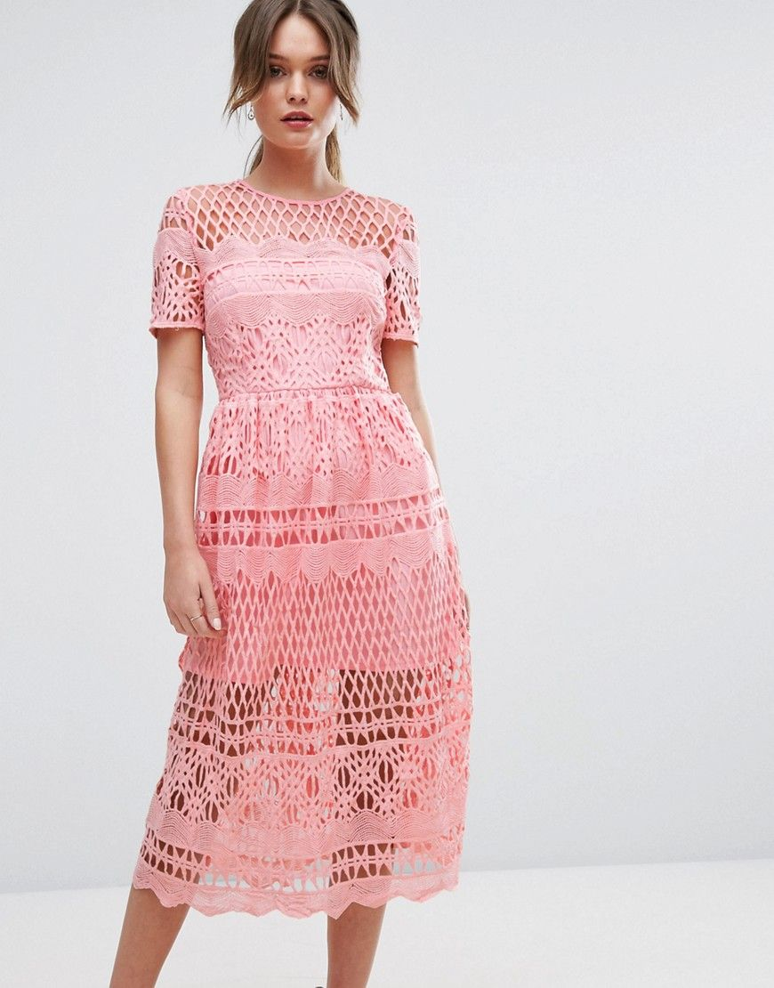 fad5ee73260 ASOS | Online shopping for the Latest Clothes & Fashion. Shop Boohoo Corded Lace  Paneled ...