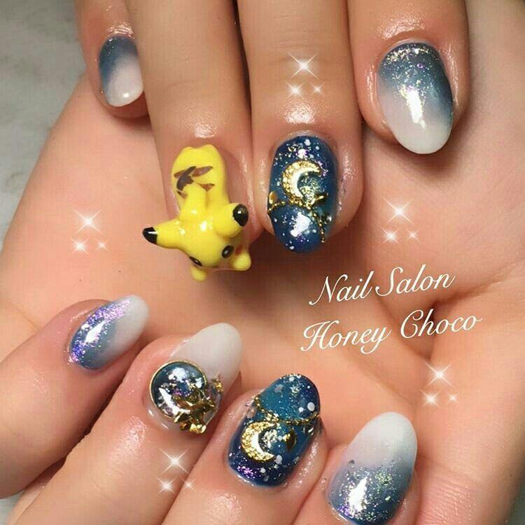 Pin by Claudia Guisao on kawaii nails   Pinterest   Kawaii nails