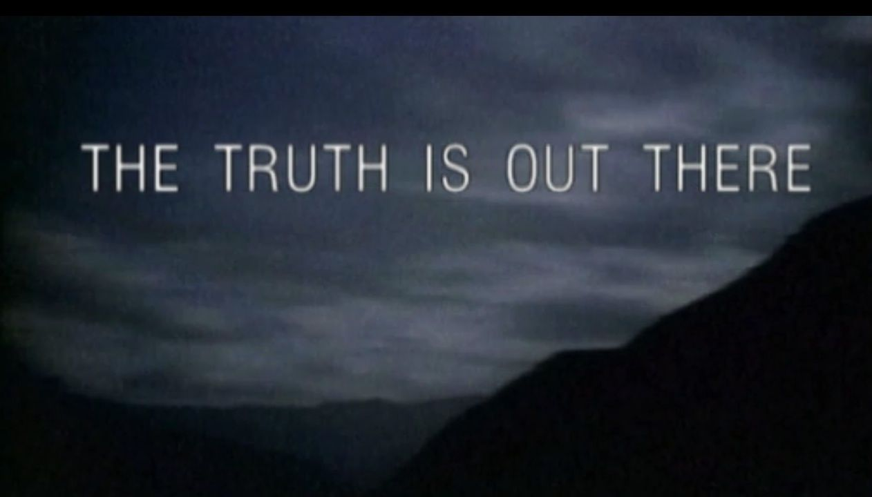 X Files The Truth Is Out There Poster Images For > X File...