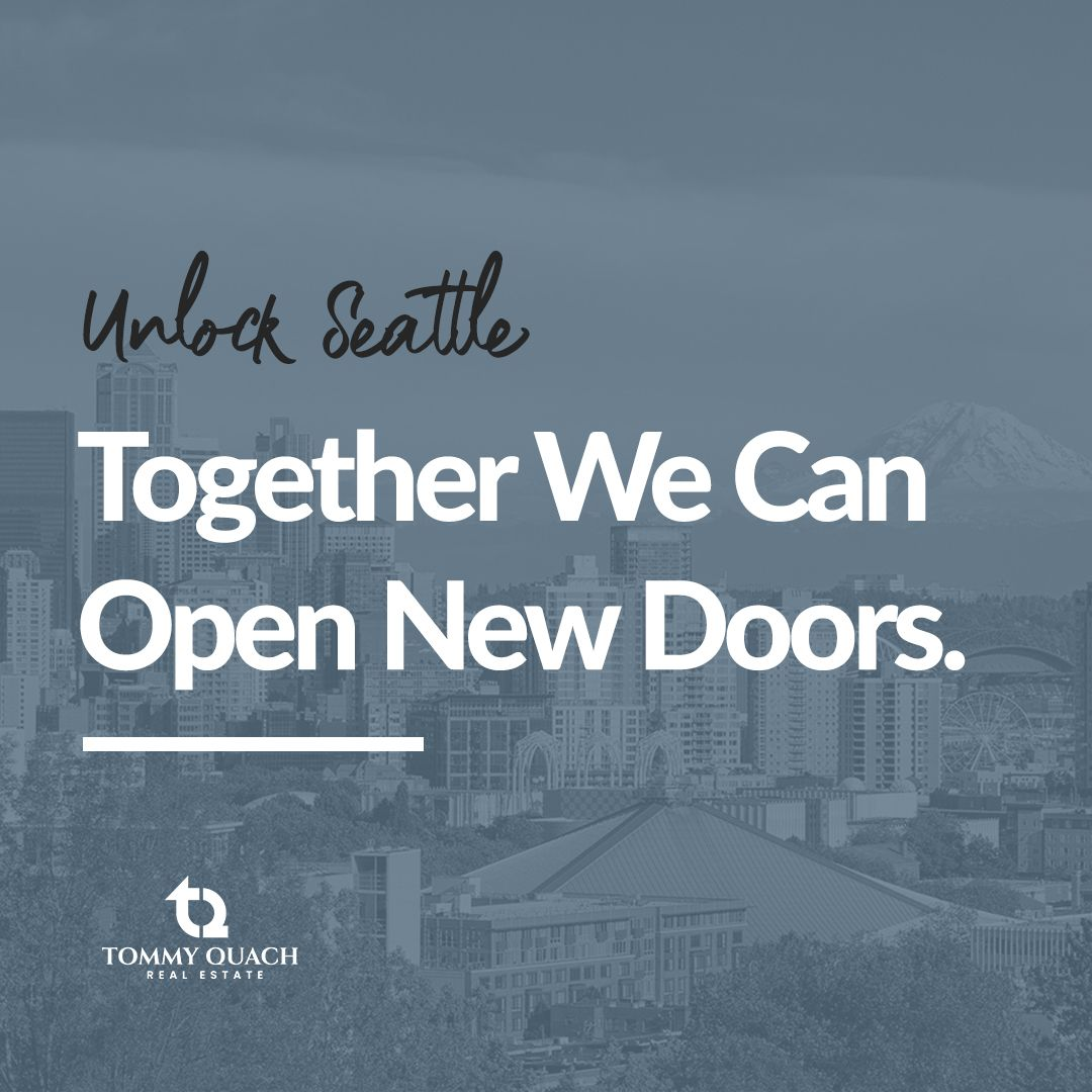 Unlock Seattle with us. Come to us and we will find your dream house. Together We Can Open New Doors. . . . #tommyquachre #realestate #realty #justlisted #realestatestyle #househunting #Seattle
