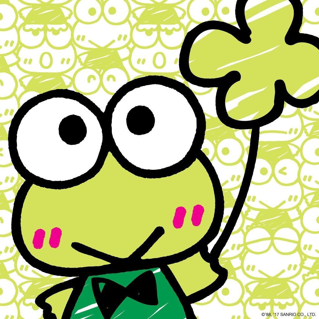 Looks like Keroppi is having a very lucky St.Patrick\'s Day! | Sanrio ...