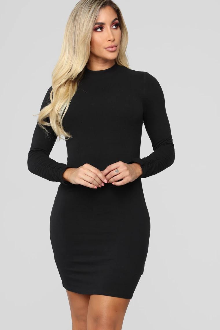 One Call Away Mini Dress Black (With images) Mini