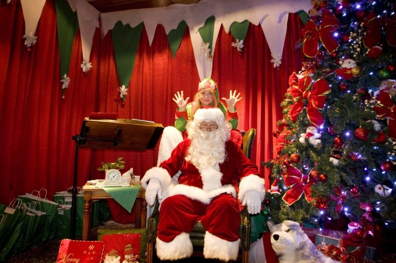 Visit the Mount Juliet Santa Train. An hour long experience which includes a magical train journey throughout the estate of Mount Juliet, bringing all onboard along a special journey. First stop on the journey is a magical Christmas story with Mrs Claus. Next watch out for Santa's workshop & his reindeer, past the Christmas Village & arriving at Santa's Grotto where Santa will be waiting with a special present for every boy & girl.     Book now on http://www.mountjuliet.ie/santatrain/ !