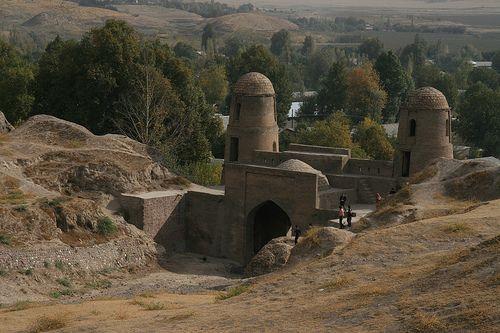 Old Gissar Fortress Dushanbe Tajikistan Fortress