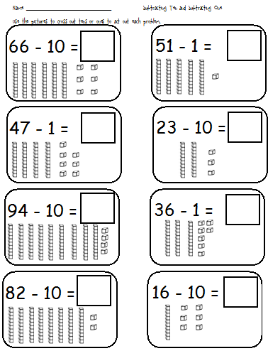 Do Your Kiddos Need Extra Help Adding Ten And Adding One