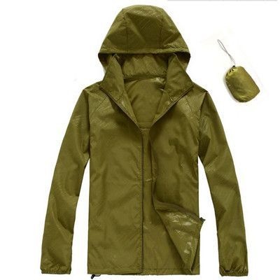 2016 Men Women Quick dry Hiking Jackets Outdoor Sport Skin Dust Coat Thin Waterproof UV Protection Camping Coats Asian 3XL RW011