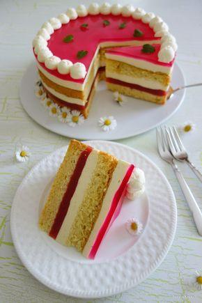 Rhabarber Vanille Torte Kuchen Und Torten Kuchen Ohne Backen Kuchen Und Torten Rezepte