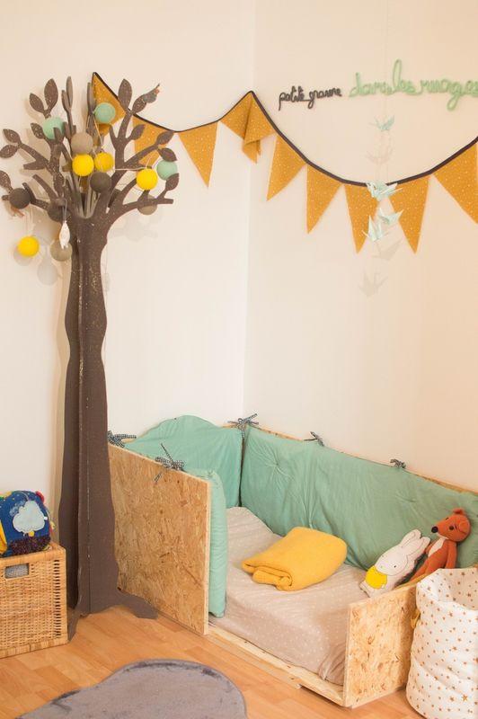 la chambre de gaspard le nuage passe deco chambre. Black Bedroom Furniture Sets. Home Design Ideas