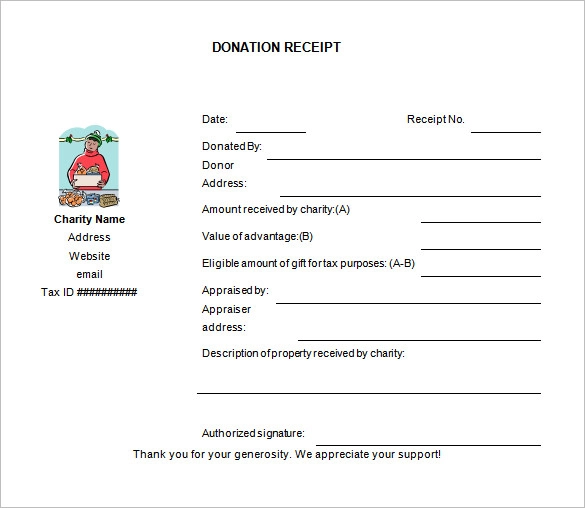 17+ Donation Receipt Templates (With Images)