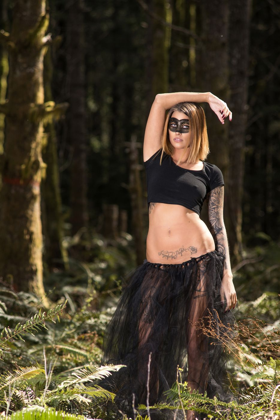 Forest sexy girls