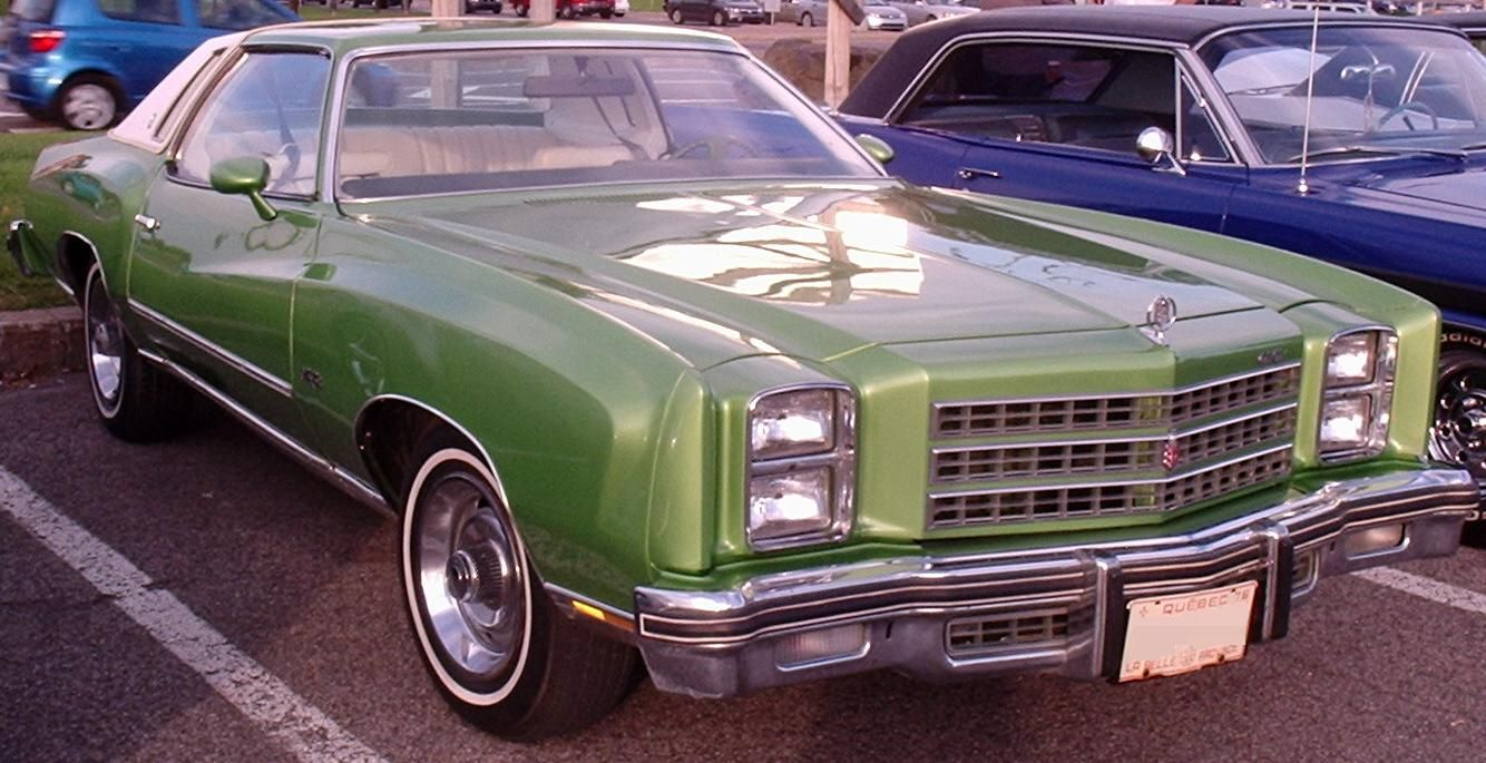 76 Chevrolet Monte Carlo Les Chauds Vendredis 10 Chevrolet