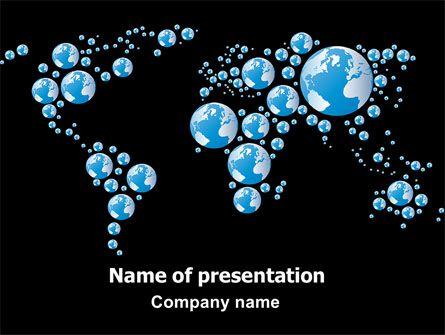 Httppptstarpowerpointtemplatebubble world map bubble bubble world map presentation template gumiabroncs Image collections