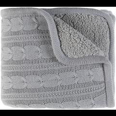 Woven blanket sock style