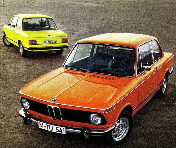 Classic Luxury Vintage Cars. BMW 201; Standard Setup Of