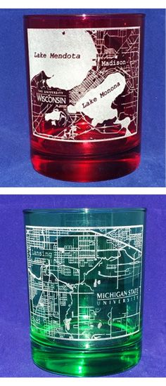 Pin By Quality Glass Engraving On College Town Map Personalized Glasses Glass Engraving Map Personalised Glasses