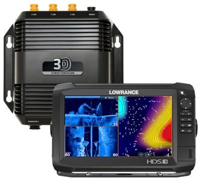 Lowrance HDS-9 Carbon Fishfinder GPS Chartplotter Combo with