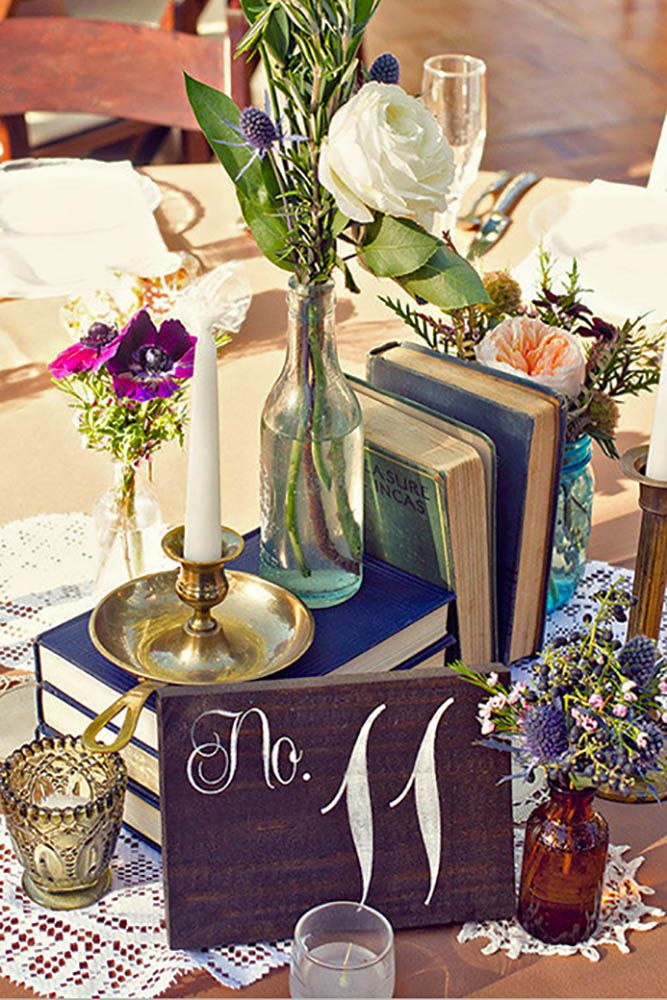 36 Stunning Non Floral Wedding Centerpieces Ideas Floral Wedding