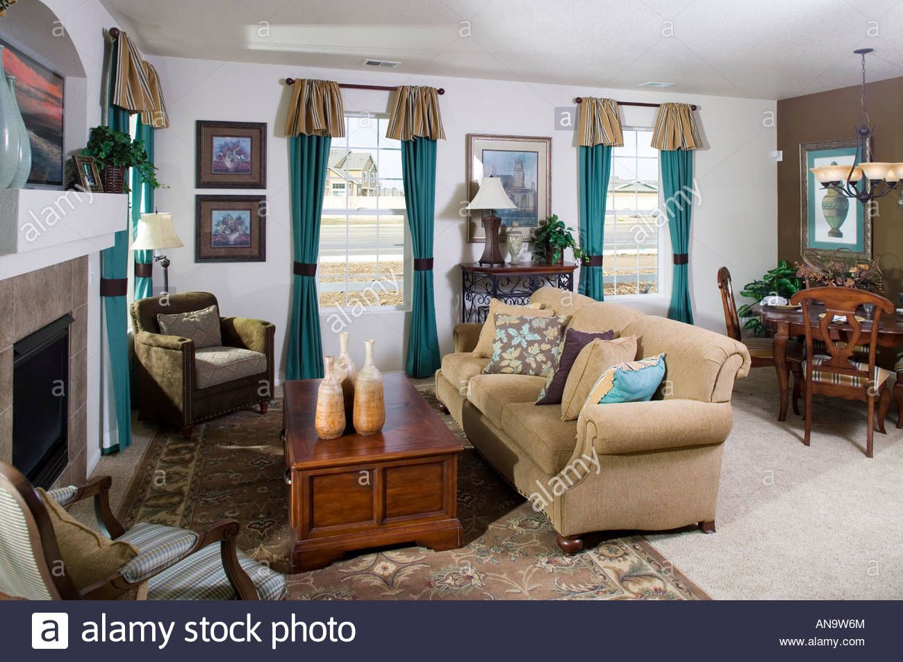 Image Result For Middle Class Living Room And Dining Room Living Room Room Home Decor