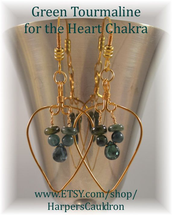 Tourmaline for the Heart - Growth, and Balance Green Tourmaline is an exceptional healing stone, associated with the Heart Chakra. It is the male, or Yang, counterpart of Pink Tourmaline. It helps you connect to the plant kingdom, is useful in healing and nurturing plants, and is helpful when studying herbalism. Like most green stones, it is all about balance and growth. As such, it attracts wealth, luck, abundance, success, and prosperity; it also encourages creativity and development.