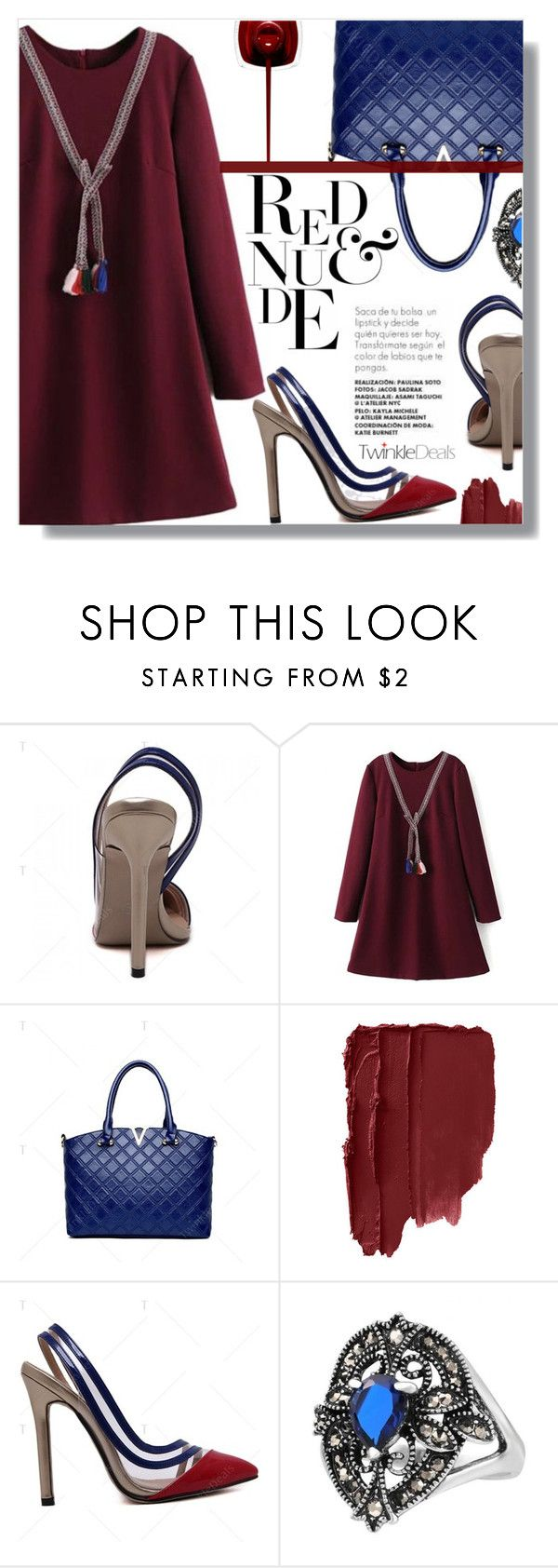 """""""Red attitude"""" by fashion-pol ❤ liked on Polyvore featuring vintage"""