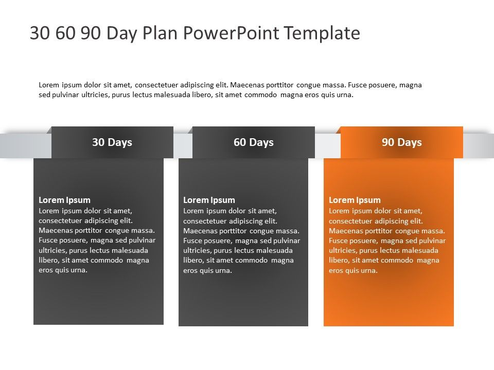 30 60 90 plan infographic 90 day plan, Day plan