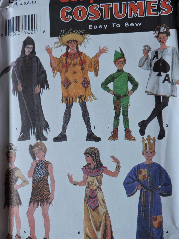 2020 Halloween Costume Patterns Cleopatra King Robin Hood Caveman Grim Reaper Ace of Spades Unisex